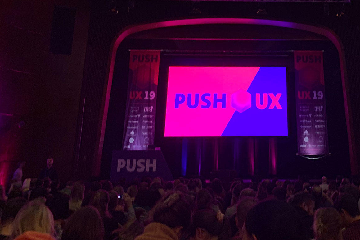 Push UX Conference ETECTURE